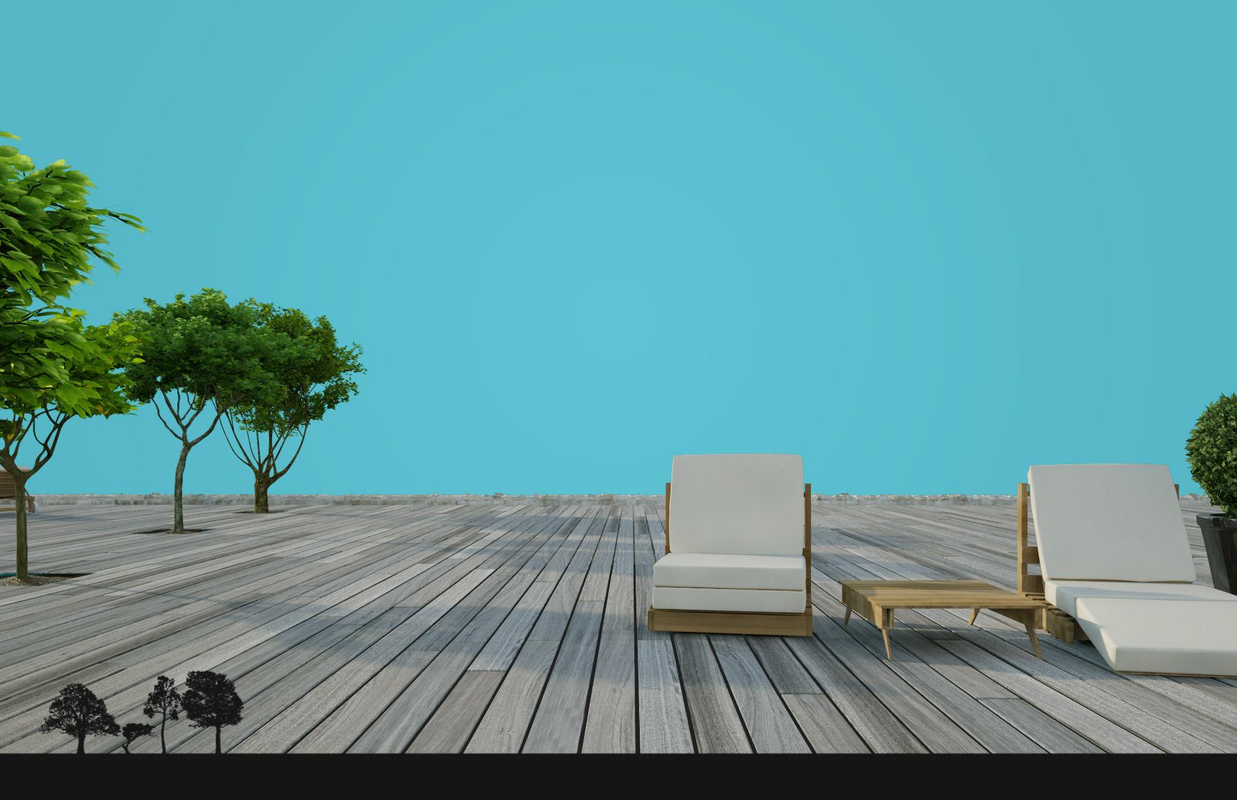 panorama - terrasses en bois - paris / ile de france