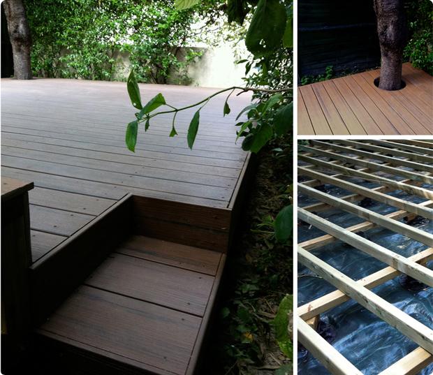 Terrasse en bois composite – Issy les Moulineaux – 92130Terrasse