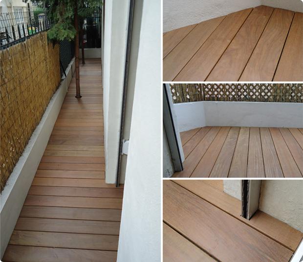 balcon bois exotique ipé paris 17