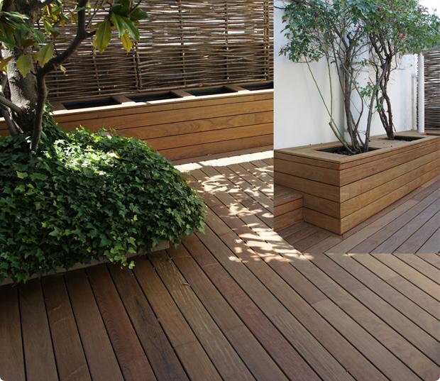 Terrasse en bois - Ipé du Brésil - Paris 7ème - Matignon