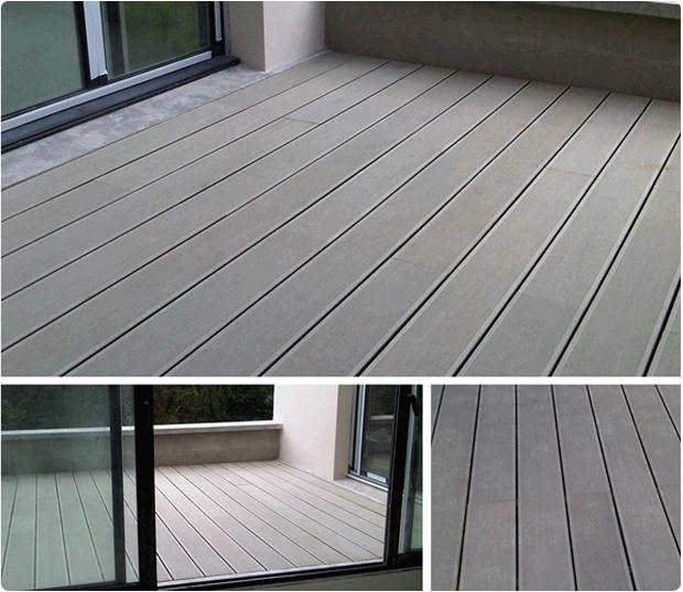 Terrasse en bois exotique ip versailles 78000invisibles archives pan - Terrasse en composite gris ...
