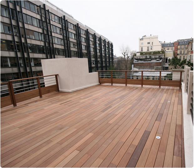 terrasse bois exotique paris ipé parc monceau