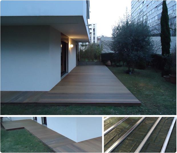 terrasse en bois exotique ipé montrouge 92