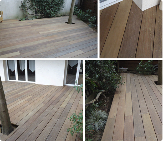 terrasse bois exotique ipé issy les moulineaux
