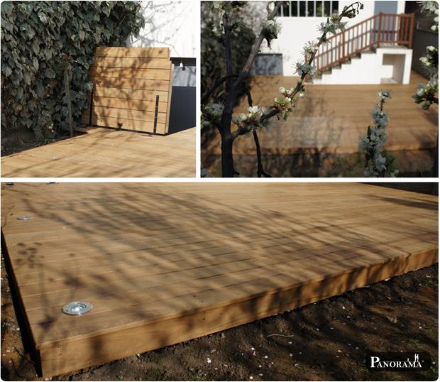 terrasse bois exotique ipé asnières 92
