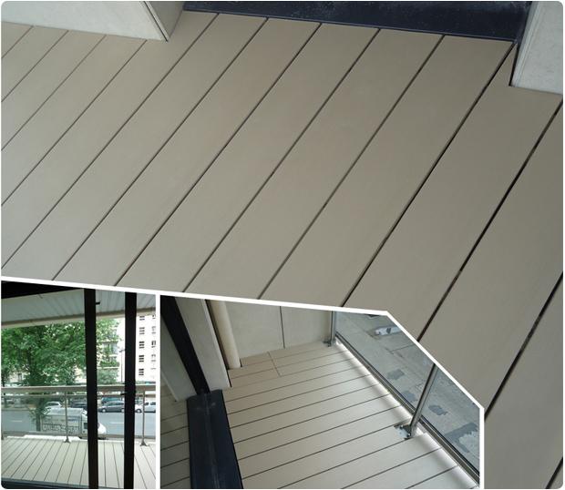 Balcon En Bois Composite : Balcon en bois composite (Timbertech) ? Paris ? 75007 ? ?cole