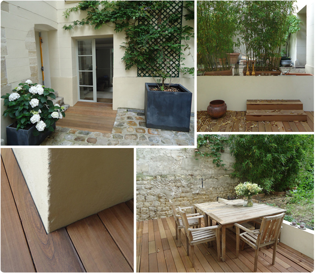 terrasse bois exotique ipe place des vosges paris 3