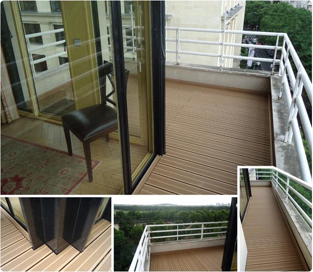 terrasse bois composite Paris 75016