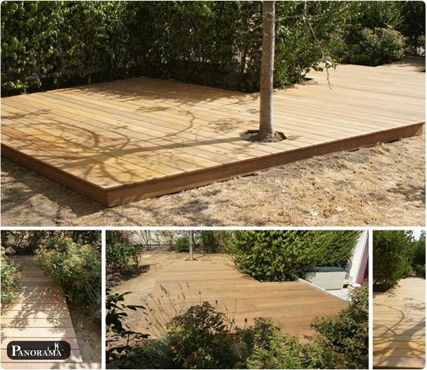 Terrasse En Bois Exotique Ipé Maisons Alfort