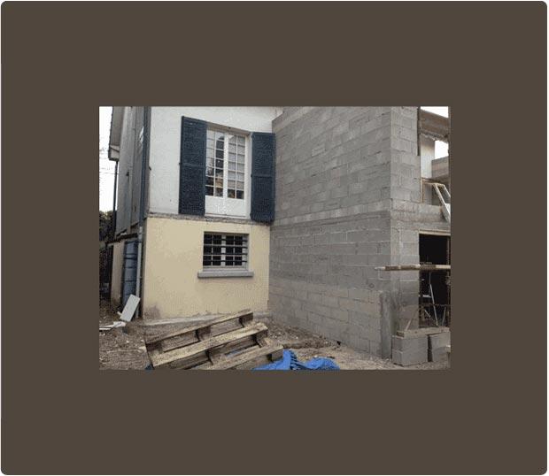 terrasse en bois sur pilotis timbertech gagny. Black Bedroom Furniture Sets. Home Design Ideas