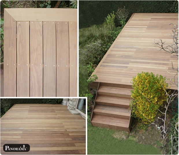 terrasse en bois exotique ip paris trocad ro 75016nos realisations en photos archives. Black Bedroom Furniture Sets. Home Design Ideas