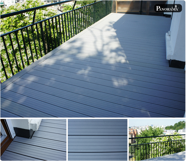 terrasse en bois composite meudon 92