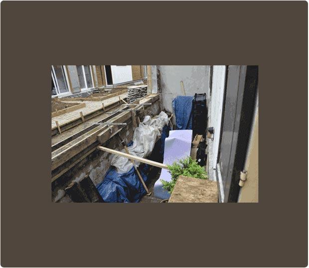 Terrasse en bois sur pilotis cumaru noisy le sec for Realiser une terrasse en bois sur pilotis