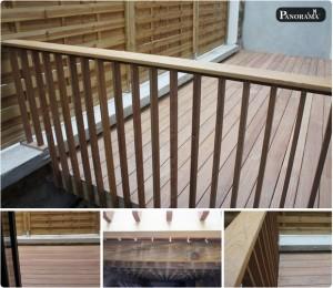 terrasse en bois sur pilotis autoportée exotique cumaru noisy le sec 93
