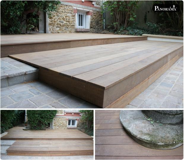 terrasse bois exotique villemomble 93 ipé