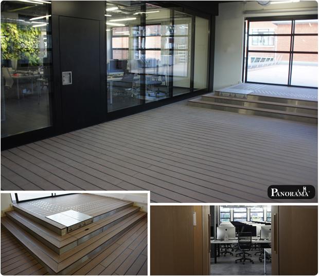 Terrasse en bois composite paris 75014 port for 42 ecole piscine