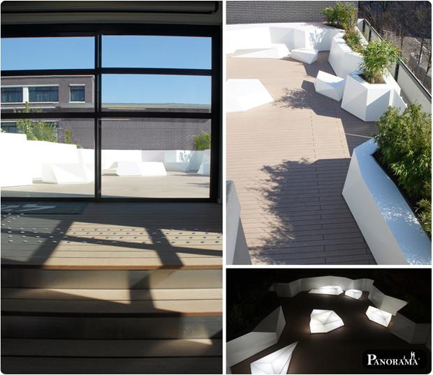 Terrasse en bois composite (Timbertech) – Paris – 75017 – Ecole