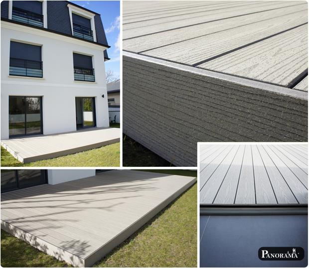 Terrasse en bois composite (Timbertech) – Bry sur marne – 94360