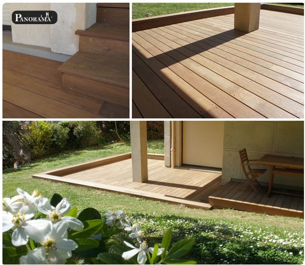 Terrasse en bois exotique (Ipé) – Suresnes – Mont Valérien