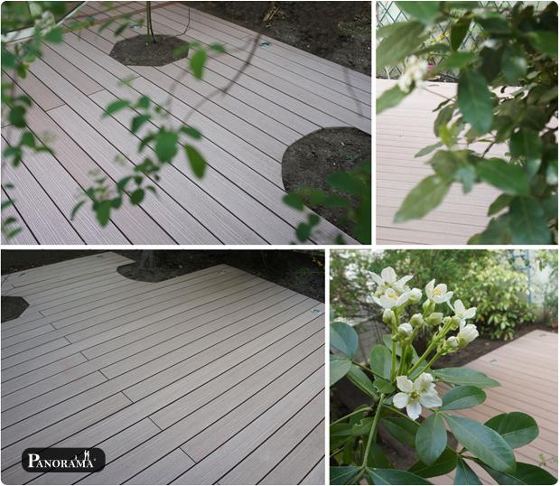 terrasse bois composite timbertech paris 75020