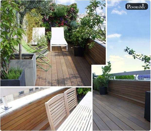 terrasse bois exotique rue saint honoré paris ipé profil bombé