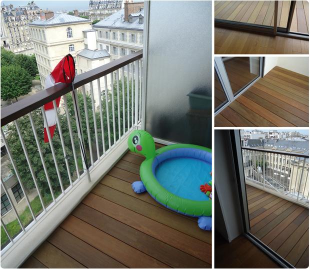 balcon bois exotique ipe paris 75005