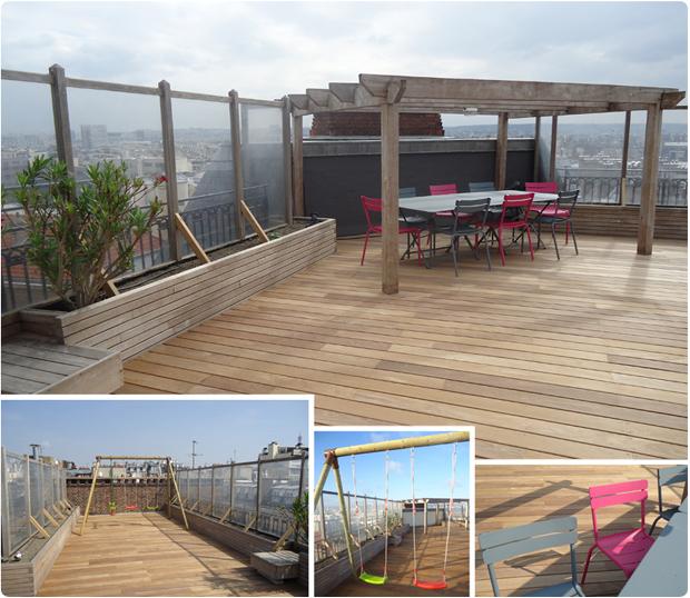 terrasse bois exotique paris ipe la muette