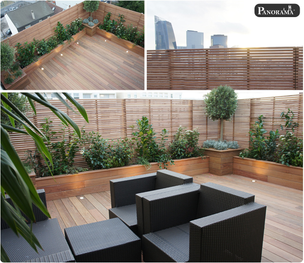 92400  PANORAMA  Terrasses en bois  Paris  Ile de France
