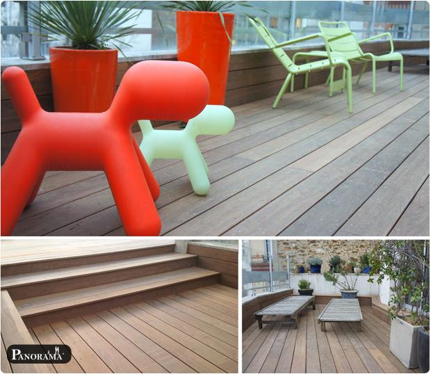 terrasse bois exotique ipé neuilly hauts de seine 92