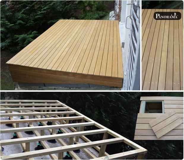 Boulogne  92100  PANORAMA  Terrasses en bois  Paris  Ile de