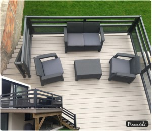 terrasse bois composite timbertech choisy le roi 94