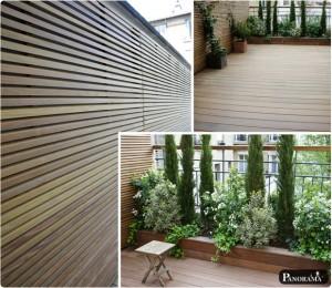 terrasse ipe clip invisible boulogne billancourt 92 premium panneaux parevue en ipé à claire voie