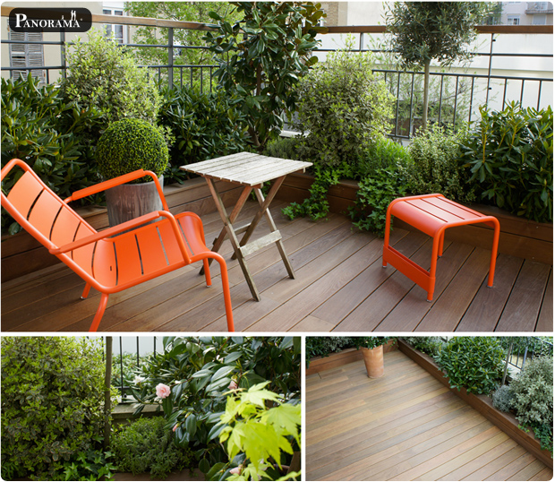 PHOTOS Archives  PANORAMA  Terrasses en bois  Paris  Ile de France
