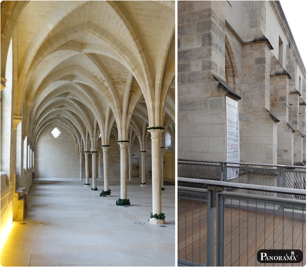 terrasse passerelle bois exotique collège des bernardins paris 5 ipé du brésil