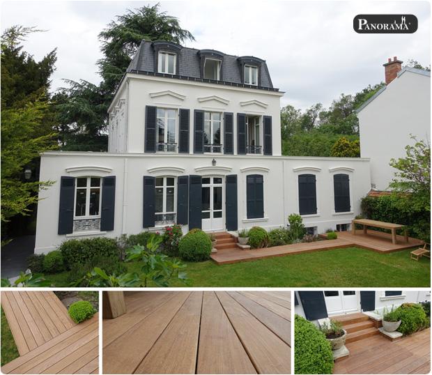 terrasse en bois exotique ipé fixation invisible hapax marne la coquette paris panorama terrasses