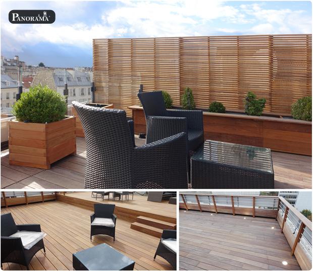 terrasse bois exotique toit neuilly sur seine panorama terrasse cumaru premium