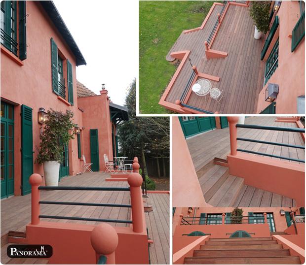 terrasse bois exotique cumaru maison marocaine garches (92) panorama terrasses