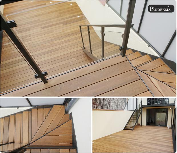 terrasse ipe 1erc choix bombé escalier ipé le perreux sur marne panorama terrasses