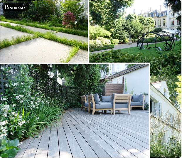 louis benech paysagiste terrasse en ipe boulevard saint germain paris 75007 maison amerique latine panorama terrasses
