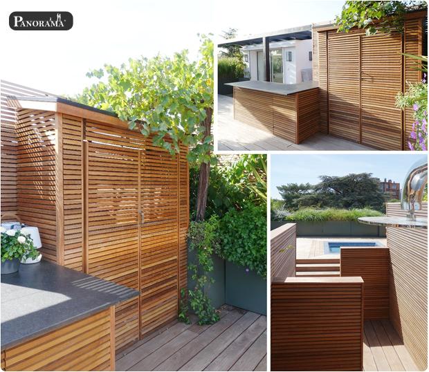terrasse bois ipe cabane santillane design panorama terrasse roland garros rooftop jacuzzi pergola