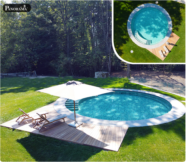 terrasse ipe piscine vendoeuvres suisse luxe pose en soleil panorama foret