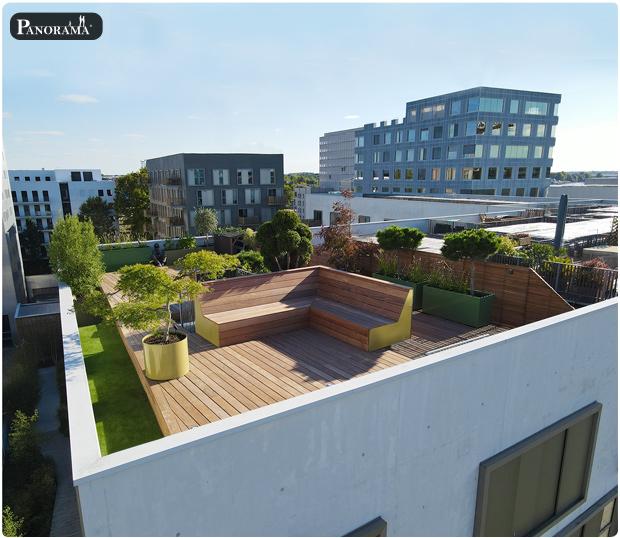 toit terrasse nantes bois exotique ipe bac aluminium végétaux ile des machines elephant panorama terrasses
